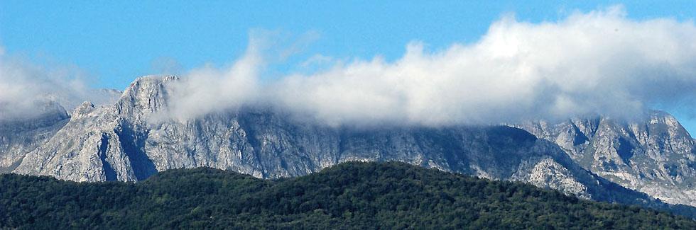 Percorsi alpini sulle Alpi Apuane