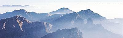 Foto Le Alpi Apuane e gli Appennini