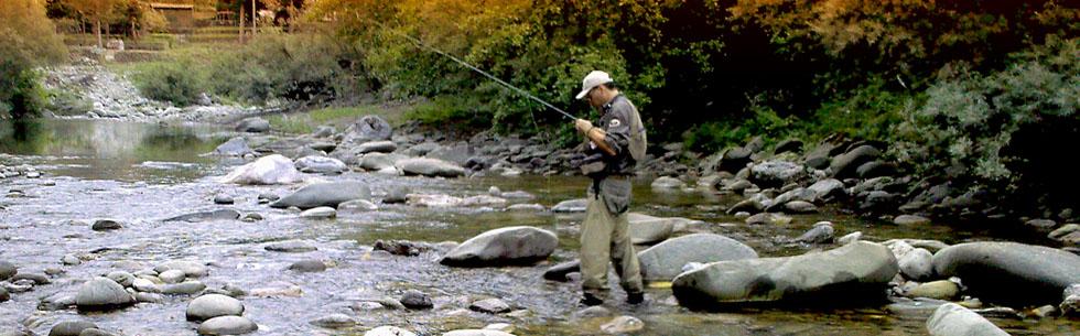 Pesca Sportiva sul Fiume Lima