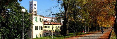 Foto Le mura della citta' di Lucca