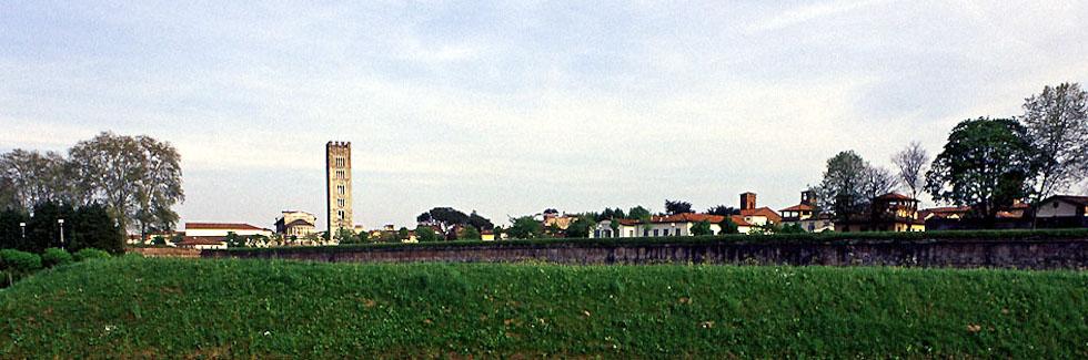 Il parco delle mura di Lucca