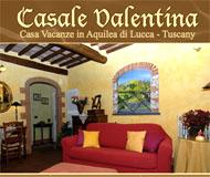 Logo Casa Vacanze - Casale Valentina